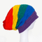 Customized Rainbow Simple Beanie Knitted Winter Colorful Hats