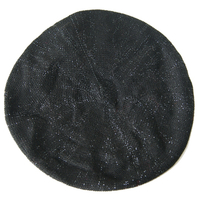 Arcylic Wholesale Customized Winter Beret with Metal Yarn