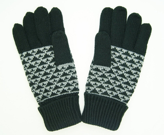 Wholesale Customized Small MOQ Hot Sale Knitted Gloves Jacquard Gloves