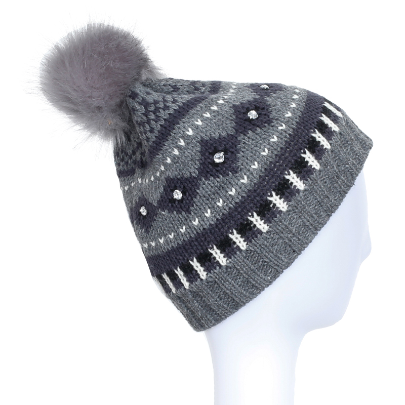 Lady Fashion Beanies Hot Sale Caps Knitted Winter Warm Beanies