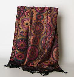 High Quality Customized Wholesale Lady Fashion Jacquard Woven Scarf