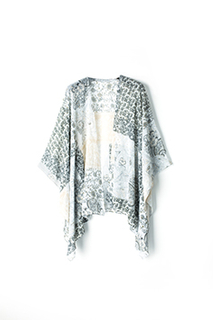 Summer print ladies shawl