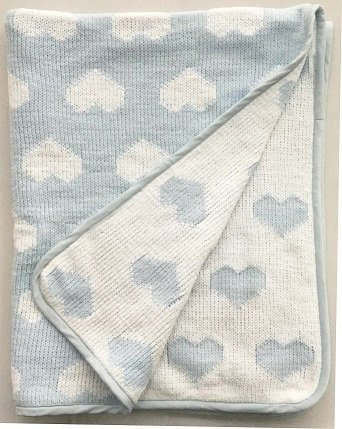 New Design Cotton Knit Baby Blanket Super Soft Jacquard Children Blanket