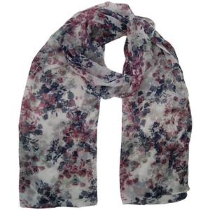 Wholesale Customized Winter Warm Jacquard Polyester Scarf