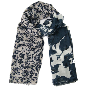 100% Acrylic Customized Wholesale Lady Fashion Jacquard Woven Scarf