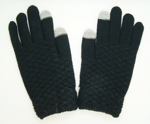 Wholesale Customized Winter Knitted Acrylic Magic Screen Touch Glove