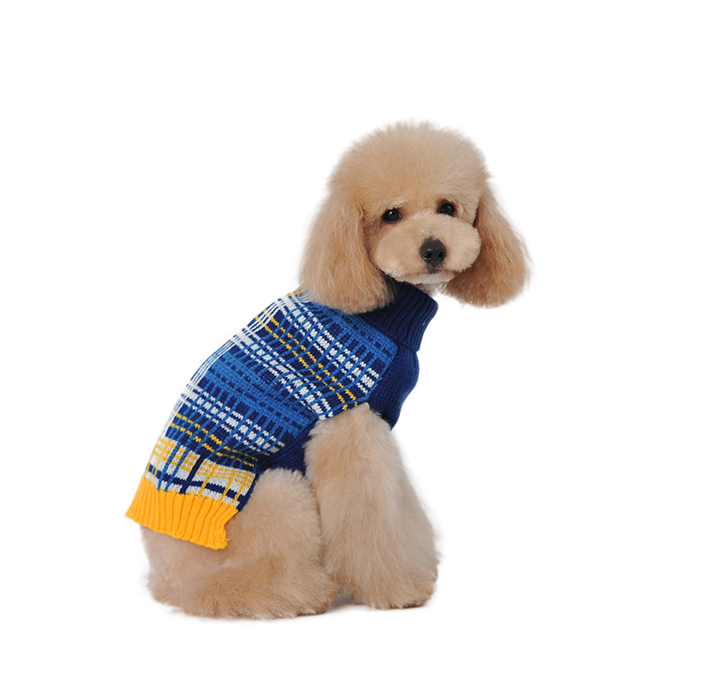 winter pet product dogs clothes / dog plaid hoodie /simply she dog clothes