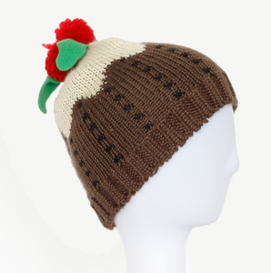 Hot Sale Special Design 100% Acrylic Jacquard Cuffed Knitted Winter Beanie Hat