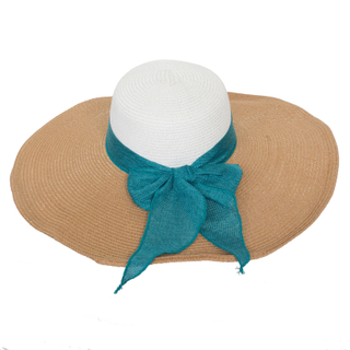 Women′s Paper Straw Beach Hat with Beautiful Straps