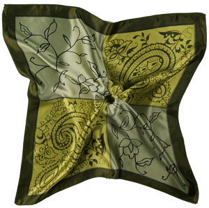 Wholesale 100% cotton printed hand kerchief, Cheap Printed Woman Square Neck Scarf Kerchief