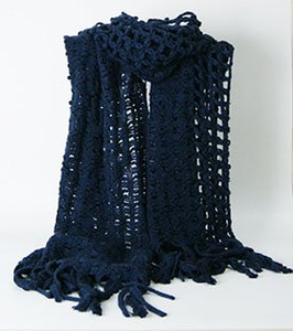 100% Acrylic Customized Wholesale Lady Fashion Knitted Scarf